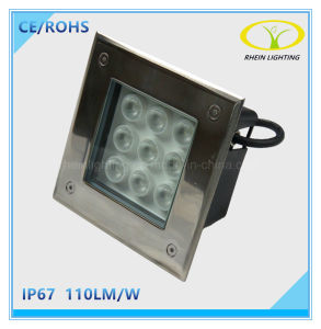 IP67 Outdoor Landscape 9W Underground LED Light with Square Design pictures & photos