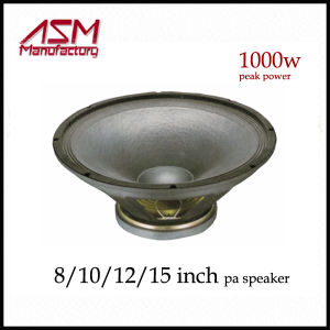 """1600 Watts RMS 15""""/18"""" High Power PA Woofer Speaker pictures & photos"""