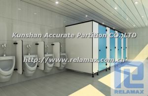 SGS HPL Compact Laminate Toilet Partition Customized Design (2)