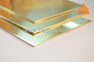 Aluminium Composite Panel For Cladding /CC-002 Yellow Copper pictures & photos