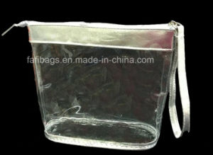 Clear PVC Zipper Cosmetic Bag for Packing pictures & photos