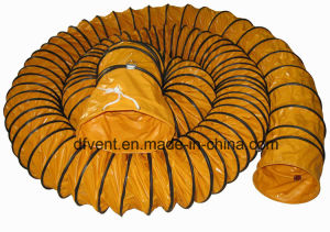 Fire Resistant Orange Flexible Duct pictures & photos