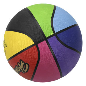 Rubber Basketball Size: 1#2#3#4#5#6#7 pictures & photos