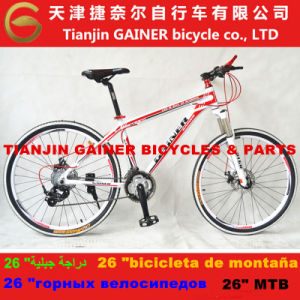 "Tianjin 26"" MTB Bicycle Aluminum 21sp Shimano Equipped pictures & photos"