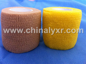 Ce and ISO Certified Crepe Elastic Bandage Chohesive Bandage pictures & photos