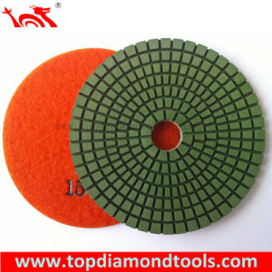 4 Inch Diamond Flexible Wet Polishing Pads/Diamond Pad pictures & photos
