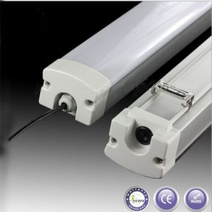 2ft 20W Warm White Pure White Cool White LED Triproof Light Fixtures pictures & photos