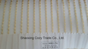 New Popular Project Stripe Organza Voile Sheer Curtain Fabric 008274 pictures & photos