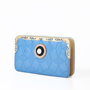 Wholesale Stitching Lady Wallet Purse (MBNO037158) pictures & photos