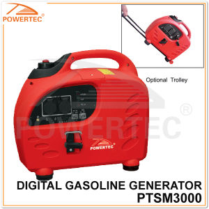 Powertec 4-Stroke 3.6kw Digital Gasoline Generator (PTSM3000) pictures & photos