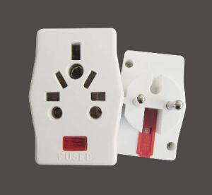Factory Price 10A Travel Plug Power Adaptor (7195L) pictures & photos