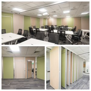 Acoustic Moveable Partitions Walls for Office pictures & photos