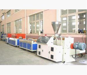 WPC Extrusion Line, WPC Extrusion Machine, WPC Plastic Panel Extrusion Machine pictures & photos