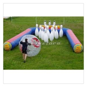 Outdoor Human Bowling Ball Games with Zorb Playing pictures & photos