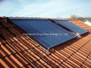 Heat Pipe Solar Heater Collector for Inclined Roof pictures & photos