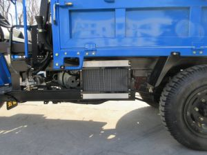 Chinese Waw Diesel Three Wheel Vehicle with Rops & Sunshade pictures & photos