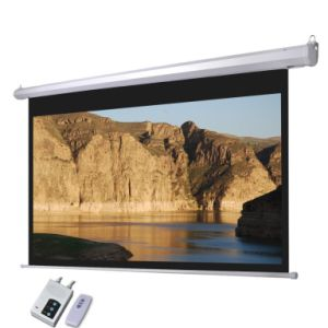 Motorized Projection Screen/Projector Screen/Matte White Electric Screen (ES150) pictures & photos