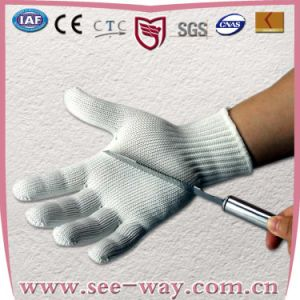 2013 Hhpe Stainless Steel Cut-Resistant Working Gloves
