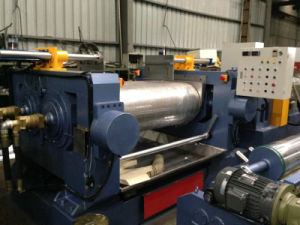 TWo roll mixing mill XK-400 pictures & photos