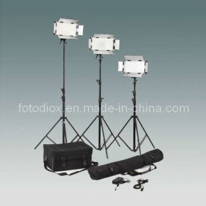 Compact LED Studio/Video Light Kit (FK-500)