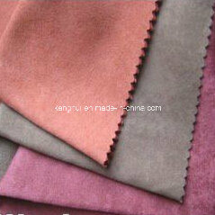Polyester Microfiber Suede Upholstery Fabric for Sofa Hometextile