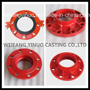 FM/UL 300 Psi Grooved Adaptor Flange -ANSI Class 150 pictures & photos