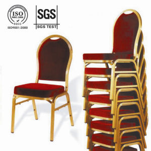 Red Aluminium Hotel Banquet Chair (CY-8030) pictures & photos
