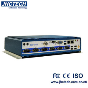 Embedded Industry PCS for Delivery Lockers with Dual Displays Scc-3116