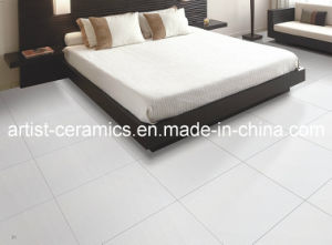 White Polished or Matte Floor Porcelain Tile for Bathroom pictures & photos
