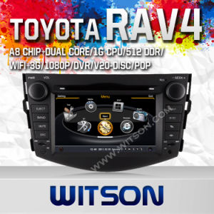 Witson Car DVD with GPS for Toyota RAV4  (W2-C018) pictures & photos