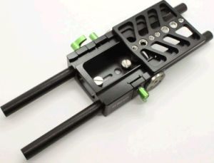 15mm Rod Camera Dovetail Baseplate for Blackmagic Camera