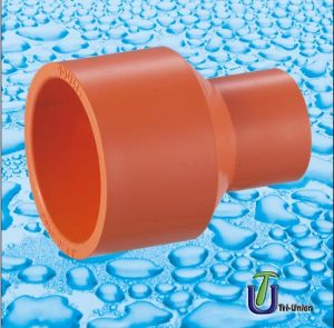 Plastic CPVC Reducing Socket (PVC UPVC PE PPR Flange) pictures & photos
