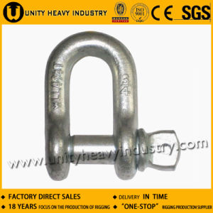 D Type G-210 U. S Type Forged Screw Pin Chain Shackle pictures & photos