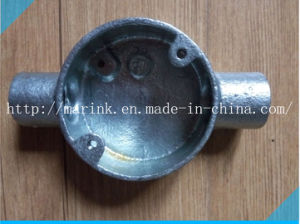 Galvanized Malleable Iron Conduit Box Bs4568/En50086 Through Box pictures & photos
