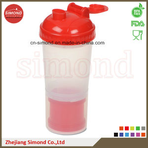 700ml Plastic Protein Shaker Bottles with Plastic Insert (SB6002) pictures & photos