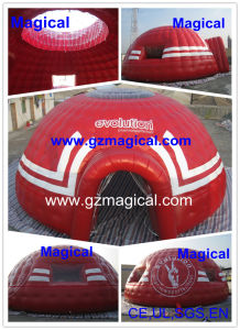 Printed Red Sport Games Inflatable Igloo Tent (MIC-832) pictures & photos