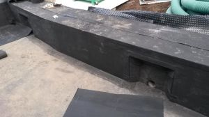 Construction Wholesale Fleece-Backed EPDM Material Waterproofing Membrane Pool Liner pictures & photos