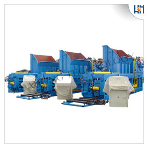 Semi-Automatic Waste Paper Horizontal Baler pictures & photos