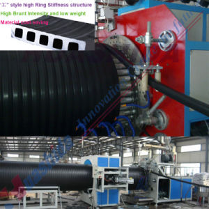 Plastic Spiral Pipe Production Line (Dim. 300mm-1200mm) pictures & photos
