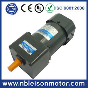 Single Phase 60W AC Induction Gear Motor pictures & photos