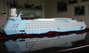 Scale Ship and Boat Model Making, Miniature Cruise Ship Model (JW-37) pictures & photos