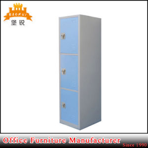 Cheap Good Quality 3 Doors School&Gym Metal Storage Locker pictures & photos