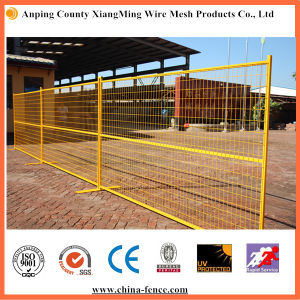 PVC Painted Low Carbon Steel Temporary Wire Mesh Fencing pictures & photos