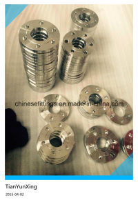 DIN2543 Pn16 Forged Plate Stainless Steel Pipe Flange pictures & photos