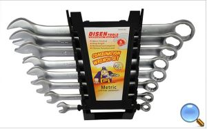 8PCS High Quality Matt Finish Combination Wrench Set