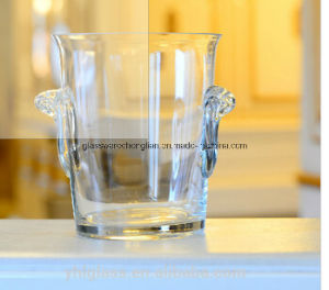 Hand Made Clear Glass Ice Bucket (BT-01) pictures & photos