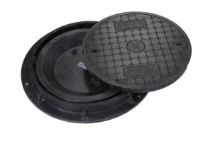 Composite Material Double Layer Waterproof Manhole Cover OEM