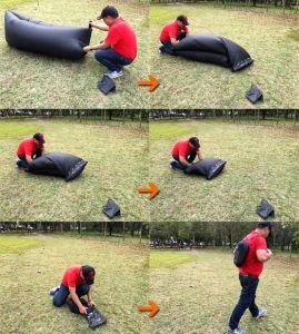 Blince Convenient Inflatable Air Sofa Like Lamzac Hangout pictures & photos
