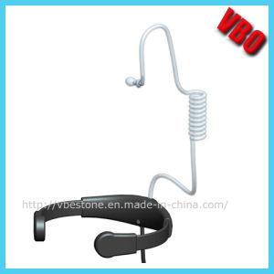 Throat Mic Walkie Talkie Earphone Headset (VB-202) pictures & photos