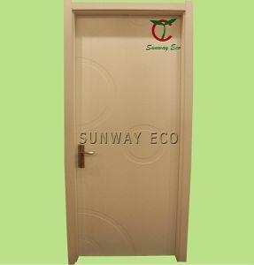 Eco-Friendly WPC Entry Door PVC Interior Door (TCD-06)